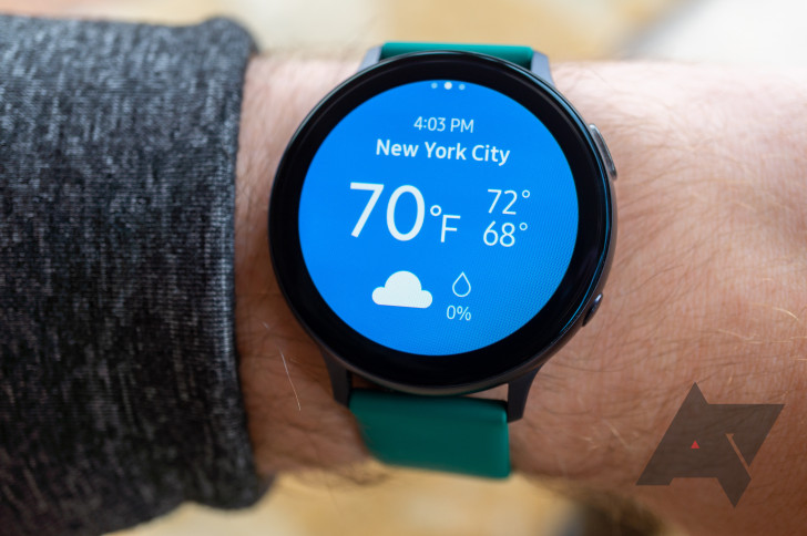 The latest updates for Samsung wearables hit the Galaxy Watch3 and Watch Active2.