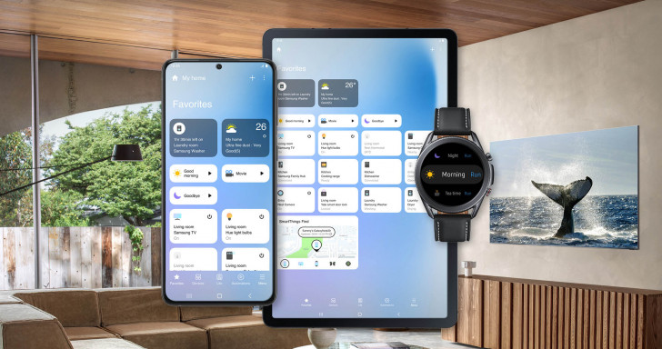 Samsung SmartThings app gets a new interface