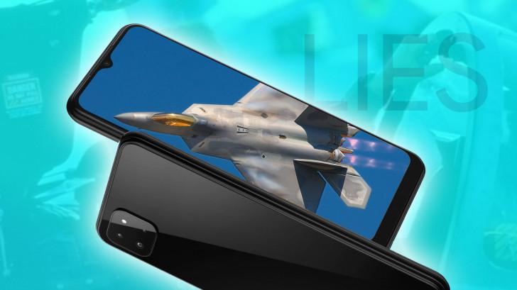 Galaxy F22 isn't a cool fighter, it's just a stupid phone